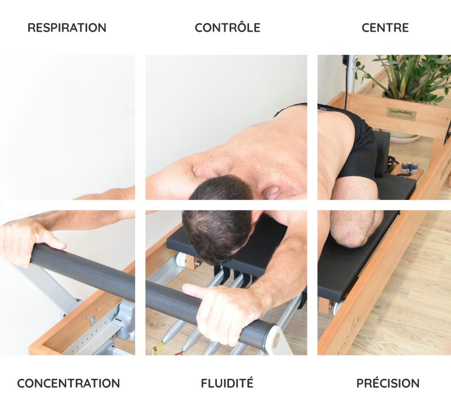 6 principes du pilates