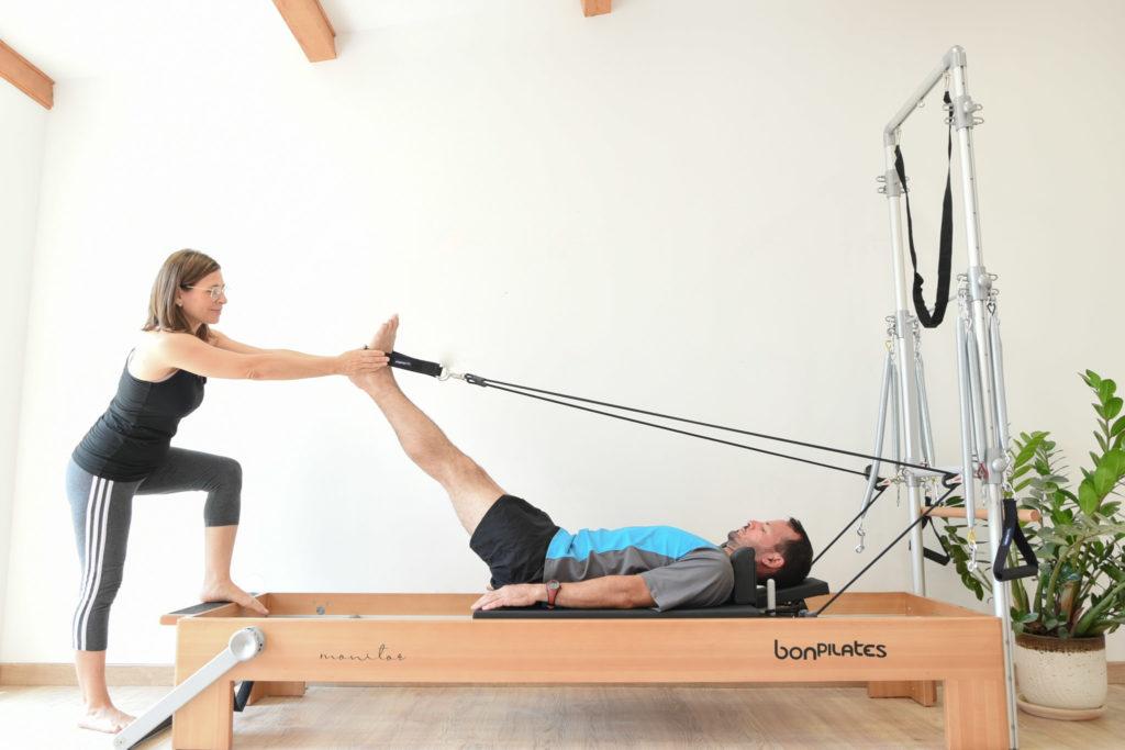 Cours de pilates sur machine avec professeur particulier à Allauch
